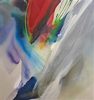 phenomena spectrum hour glass by paul jenkins