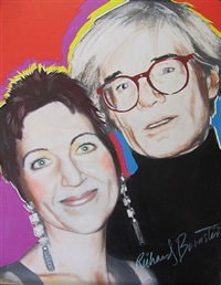 andy warhol and pat hackett by richard bernstein
