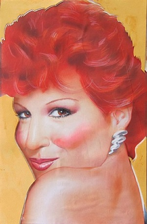 bette midler (interview maquette) by richard bernstein