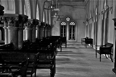 'raj bari', bengali aristocrat's mansion, outskirts of calcutta, 2013 by prabir purkayastha
