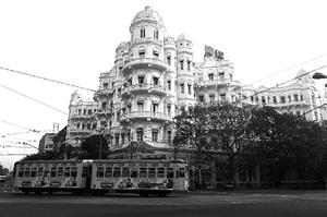 'esplanade mansions' colonial art noveau architecture, calcutta, 2013 by prabir purkayastha