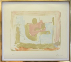 reflections 1 by helen frankenthaler