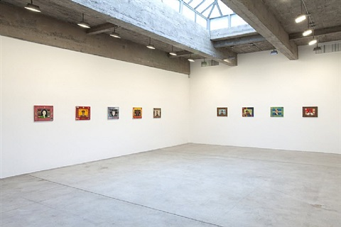 installation view by jeffrey vallance
