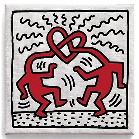 untitled (love) by keith haring