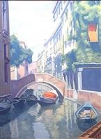 canale veneziano by ugo celada da virgilio