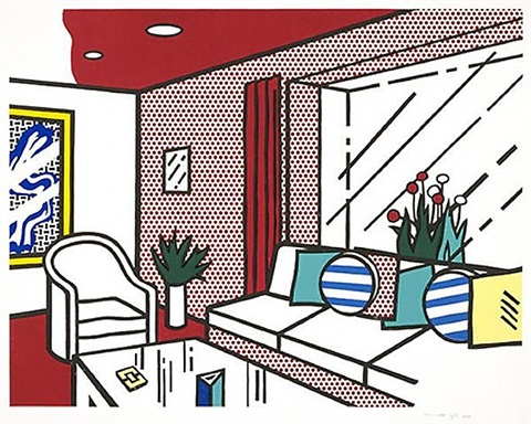 the living room by roy lichtenstein