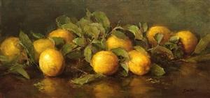 sicilian lemons (sold) by stephanie birdsall