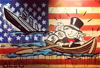 sinking ship monopoly from man overboard by alec monopoly