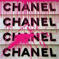 chanel stack (pink) from brand dominated universe by ultravelvet collection