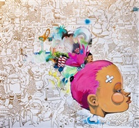 a song by sade from made believe by hebru brantley