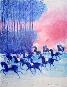 grands cavaliers du soir by andré brasilier