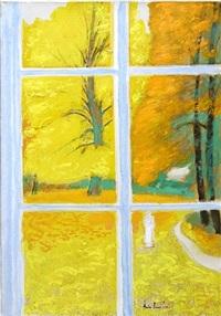 fenêtre en automne by andré brasilier