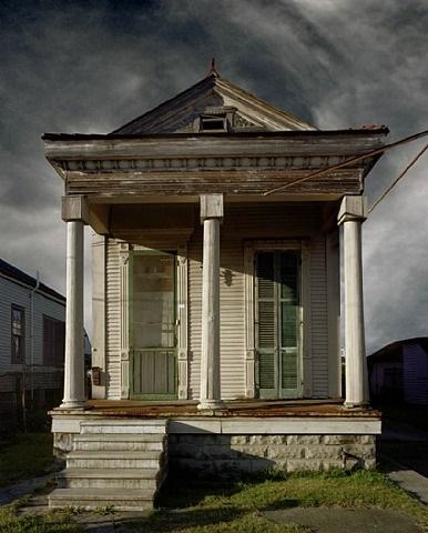 shotgun house, new orleans by michael eastman