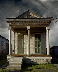 shotgun house, new orleans by michael eastman