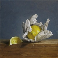 wrapped lemon by michael naples