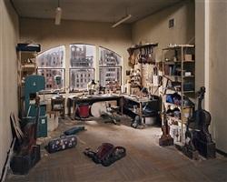 violin repair shop by lori nix