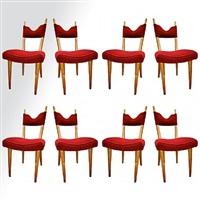 """set of 8 dinning chairs model """"baltic""""/série de 8 chaises modèle"""
