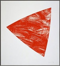 untitled (red state 1) by ellsworth kelly