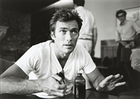 clint eastwood, yugoslavia by lawrence schiller