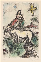 the sequestred garden by marc chagall