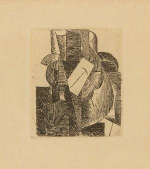 homme au chapeau (man with a hat) by pablo picasso