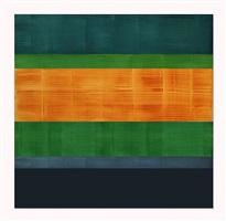 composition in greens 3 by ricardo mazal