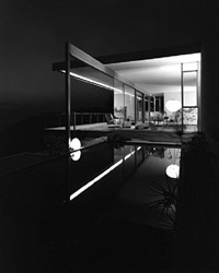 chuey house, los angeles by julius shulman