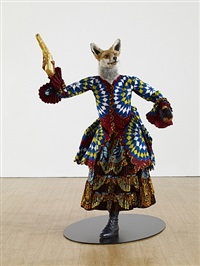 revolution kid (fox girl) by yinka shonibare mbe