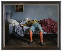 fake death picture (the death of chatterton-henry wallis) by yinka shonibare mbe