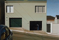 portrero garage arkansas street by robert bechtle