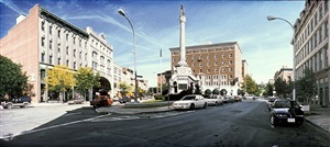 monument square (troy) by anthony brunelli