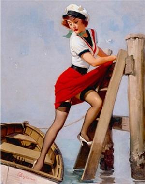 sailor beware by gil elvgren
