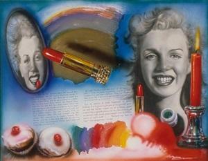 marilyn: golden girl by audrey flack