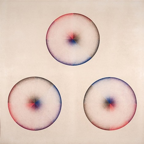 large dome drawing #3 by judy chicago