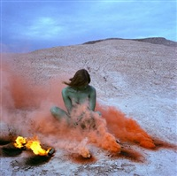 on fire by judy chicago