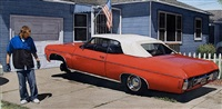 randy's '70 red impala convertible by mark goings