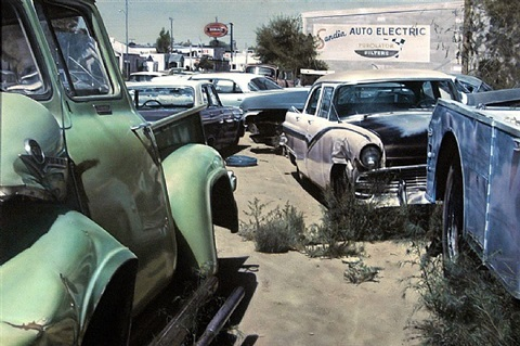 albuquerque wreck yard (sandia auto electric) by john salt