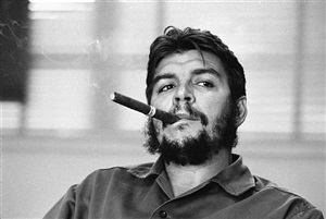 havana. ministry of industry. ernesto guevara (che), argentinian politician, minister of industry (1961-1965) during an exclusive interview in his office. by rené burri