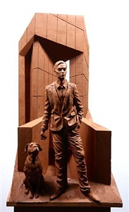 one dog and his man by paul day