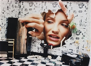 cameron diaz: dollhouse disaster, home invasion by david lachapelle