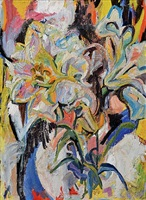 untitled (flowers) by mary abbott