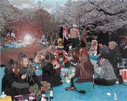 yoyogi park zur kirschbluete by römer and römer