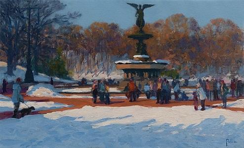 white promenade by joseph peller