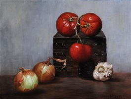 vine tomatoes by kelly birkenruth