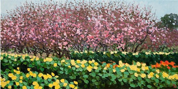 spring garden by pham luan