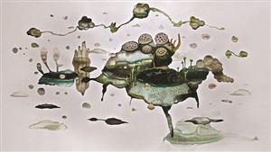 abiogenesis-terhah landscape #2 by syaiful aulia garibaldi