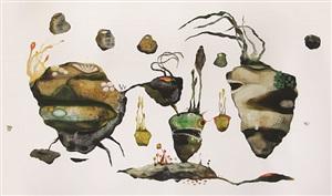 abiogenesis-terhah landscape #3 by syaiful aulia garibaldi