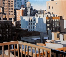 new york balcony by pham luan
