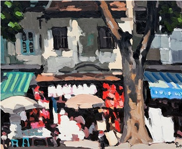 hanoi street by pham luan
