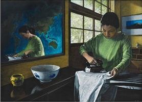 ironing by myong hi kim